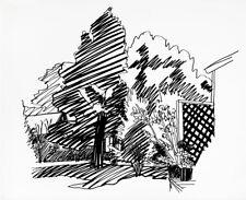 "TOM WESSELMANN  ""JEANNIE'S BACKYARD, EAST HAMPTON"" 1989  | SIGNED SCREENPRINT"