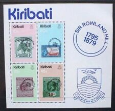 KIRIBATI 1979 Rowland Hill Centenary. SOUVENIR SHEET. Mint Never Hinged. SGMS104