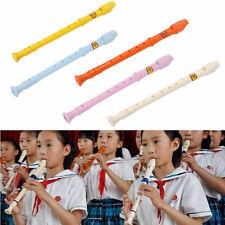 Popular Plastic Musical Instrument Recorder Soprano Long Flute High Sales