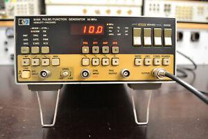 HP Agilent 8116A Pulse Funktionsgenerator 50 MHz