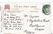 Genealogy Postcard - Family History - Reynolds - Eastbourne - Sussex   BH806