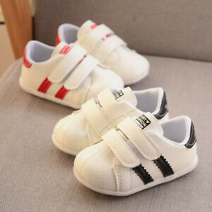 Baby Boys Girls Kids Soft Walk Trainer Shoes Child Toddler Casual Sport Sneaker