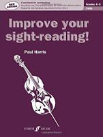 Cello Grades 4-5 (Improve Your Sight-reading!) by Paul Harris | Paperback Book |