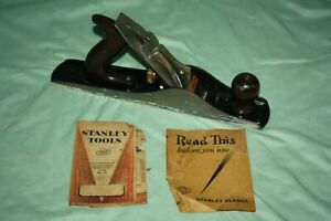 Vintage Stanley Bailey No.5-1/4 Corrugated Woodworking Jack Plane - See Pics