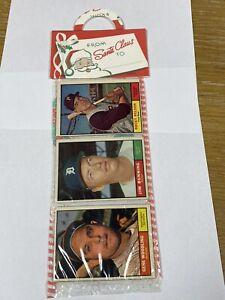 1961 Topps Christmas Holiday  Rack Pack Vintage Baseball Cards