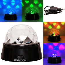 DJ Party Disco Lichteffekt Kugel LED RGB Licht Projektor Beleuchtung Discokugel