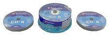 Verbatim CD-R Pack of 25 + 2 10 Packs Of Blank Recordable Disc 700 MB 52x 80min