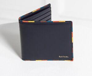 Paul Smith Wallet - BNWT Signature Bright Stripe Edge Trim Leather RRP: £190