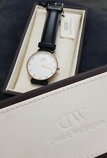 Women's Quartz Wristwatch Daniel Wellington Classy Sheffield Rose Gold 0901DW
