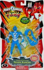 "Power Rangers Jungle Fury 5"" Jungle Master Shark Ranger New Factory Sealed 2008"