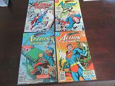 Action Comics #471, 472, 475, 485 (1977/1978, DC) Superman HIGH GRADE