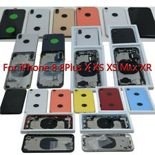 OEM iPhone Back Glass Housing Frame For iPhone 8 8 Plus 8+ X XS Max XR Assembly