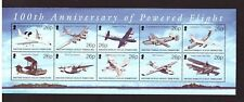 British Indian Ocean Territory MNH 2003 Planes Aviation sheet mint stamps