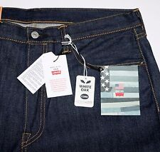 New Levi's Made In the USA 501 Shrink-to-Fit Selvedge Jeans W32 L34 Cone Mills