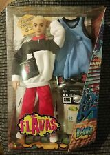 2003 Flavas Liam Sport Hip Hop Doll Track Suit Basketball Outfit Blond Hair Cell
