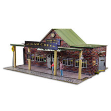 """BK 4317 1:43 Scale  """"Train Station"""" Photo Real Scale Building Kit Tracks"""