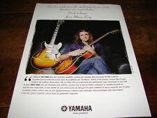 JEAN MARIE ECAY - PUBLICITE YAMAHA !!!!!!!!!!!!!!!!
