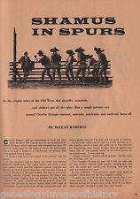 Pinkerton Detective Charlie Siringo-Shamus In Spurs -Beeler, Coghlin,Hubbard,Poe