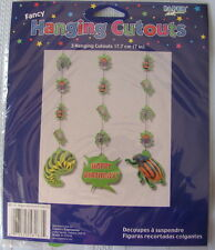 12 Bugs Hanging Cutouts (4 Packs X 3 Ea Pack= 12 Cutouts) Insects Birthday Party
