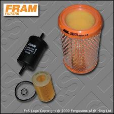 Kit De Servicio Renault Clio Mk2 1.2 8v Fram Aceite Aire filtros de combustible (2000-2003)