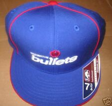 NEW NBA Official Hats WA Bullets blue 7-3/8 upto 7-3/4