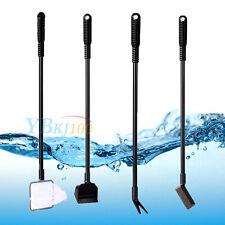 New 4 in 1 Fish Tank Aquarium Brush Gravel Rake Net Fork Sponge Cleaning Tools