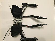 Vision Aero bar Triathlon TT set up, with Profile Carbon Stryke Ironman bars FSA