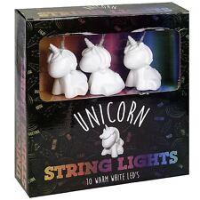Novelty Indoor Use Unicorn String Bedroom Lights