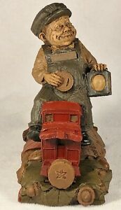 CAB-R 1986~Tom Clark Gnome~Cairn #1135~Ed #84~Train Series~COA~Story~Hand Signed