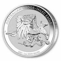 2021 Australian Wedge-Tailed Eagle 1 oz Silver Coin Australia $1 9999 BU - JK079