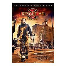 RESCUE ME: THE COMPLETE THIRD SEASON  (DVD, 4-DISC SET) R-4, LIKE NEW, FREE POST