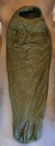 MONTANE PRISM PRIMALOFT SLEEPING BAG OLIVE GREEN - USED ONCE ONLY