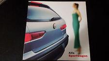 Depliant Brochure Alfa Romeo ALFA SPORTWAGON 2000  pagine 6 Perfetto  Edicola