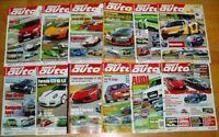 21x sport auto 2012 2011 Zeitschrift Sammlung Motorsport Ferrari BMW DTM spezial