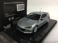 1/43 WIT'S W24 SUBARU BRZ GENUINE OPTIONAL PARTS FITTED SILVER resin model car