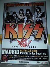 KISS POSTER MADRID 2010 ESPAÑA