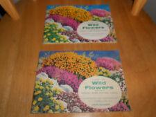 BROOKE BOND  'WILD FLOWERS-SERIES 2' 1959 & 1973 (B6)-2 COMPLETE SETS IN ALBUMS