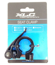 QUICK RELEASE SEAT POST CLAMP 28.6 28.6mm QR