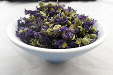 Dried BLUE MALLOW FLOWER   - 50g - MALVA SYLVESTRIS - Free Postage