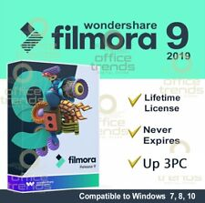 Wondershare Filmora 9 🔥Lifetime Full-Activated 🔑Fast Delivery Windows up 3 PC
