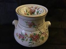 19th Century Staffordshire Barrel Vase ,Large, Twin Handles