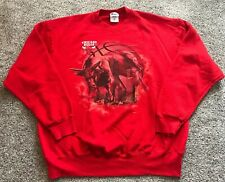 Vintage 90's Men's XXL /2XL Pro Player Chicago Bulls NBA Crewneck Sweatshirt Usa