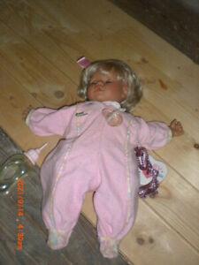 ♥️ Zapf Puppe Baby Lou alt ♥️