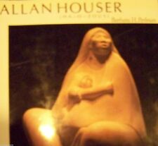 LARGE PICTURE COFFEE TABLE ART BOOK - ALLAN HOUSER - SIGNED - BARBARA H. PERLMAN