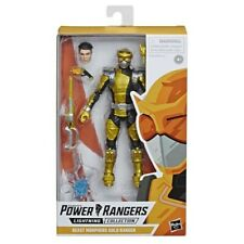 Power Rangers Lightning Collection Gold Ranger Action Figure Hasbro