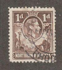 Northern Rhodesia 27 - King George VI. Used  #02 NRHOD27