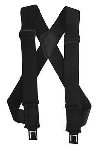 New Perry Suspenders Men's Elastic uBEE Ruf-N-Tuf Hook End Trucker Suspenders