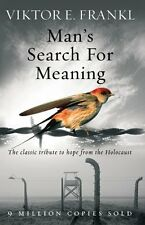 Mans Search For Meaning: The classic tribu by Viktor E Frankl New Paperback Book