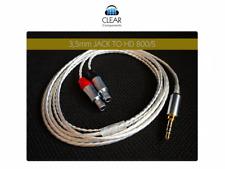Hd800 S SENNH. Cuffie Cavo simmetrico XLR OCC 4pol headphone cable upgrade