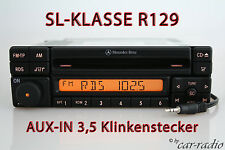 Mercedes original Special mf2297 CD-R AUX-in mp3 autoradio r129 SL-clase w129